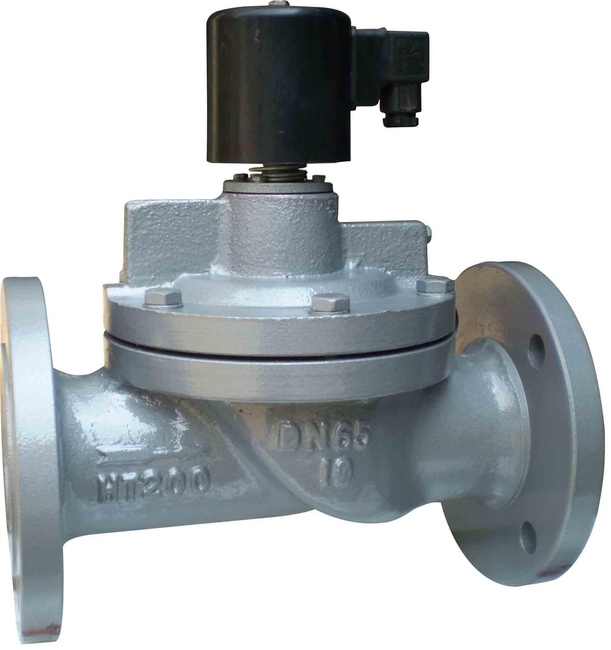 高压电磁阀为先导直动型电磁阀,其通用介质范围较广,可分别使用于水图片